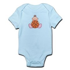 Lil Basketball Baby Girl Infant Bodysuit