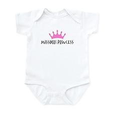 Missouri Princess Infant Bodysuit