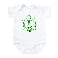 Peace turtle Onesie