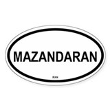 Mazandaran Oval Decal