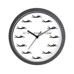 It's Business Time Swimming Wall Clock