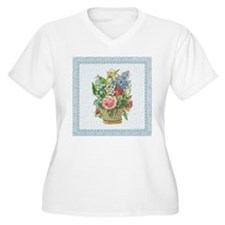 Basket of Spring Flowers T-Shirt