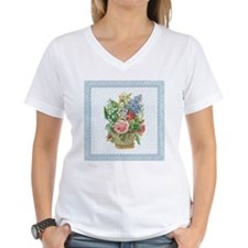 Basket of Spring Flowers Shirt