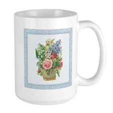 Basket of Spring Flowers Mug