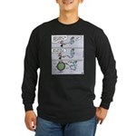 Genie Ballpark Figure Long Sleeve Dark T-Shirt