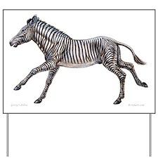 Grevy's Zebra ~ Yard Sign
