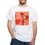 Valentine's Day #3 White T-Shirt