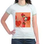 Valentine's Day #3 Jr. Ringer T-Shirt