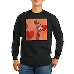Valentine's Day #3 Long Sleeve Dark T-Shirt