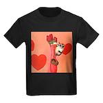 Valentine's Day #3 Kids Dark T-Shirt