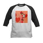 Valentine's Day #3 Kids Baseball Jersey