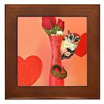 Valentine's Day #3 Framed Tile