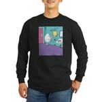 Egg Overeasy Long Sleeve Dark T-Shirt