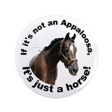 "If Not Appaloosa-1 3.5"" Button"