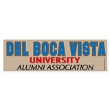 Del Boca Vista University Bumper Bumper Sticker