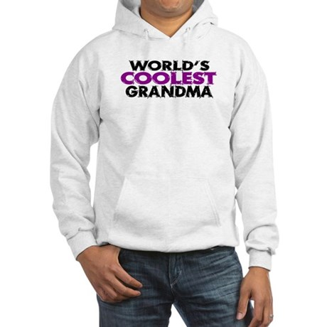 World's Coolest Grandma Hooded Sweatshirt