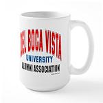 Del Boca Vista University Large Mug