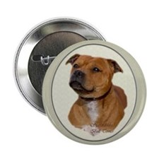 "Staffordshire Bull Terrier 2.25"" Button (10 pack)"