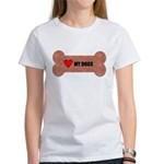 LOVE MY DOGS Women's T-Shirt
