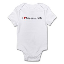 I Heart Niagara Falls NY T-sh Infant Bodysuit