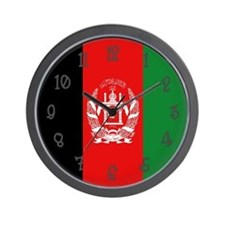 Afghanistan Flag Wall Clock