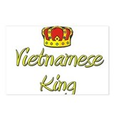 Vietnamese King Postcards (Package of 8)