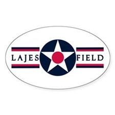 Lajes Field Oval Decal