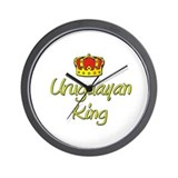 Uruguayan King Wall Clock