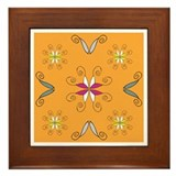 Embellish Orange:Framed Tile