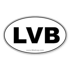 LVB Car Oval Decal