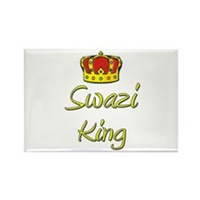 Swazi King Rectangle Magnet