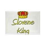 Slovene King Rectangle Magnet (10 pack)