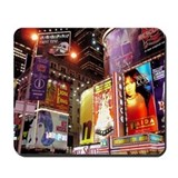 Broadway at Night Mousepad