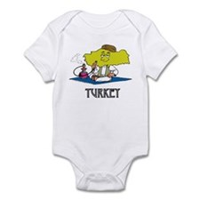Turkey Fun Country Infant Bodysuit
