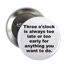 """Sartre 2.25"""" Button (100 pack)"""