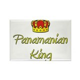 Panamanian King Rectangle Magnet (10 pack)