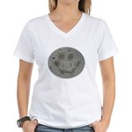 Real Cat Track Women's V-Neck T-Shirt