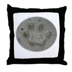 Real Cat Track Throw Pillow