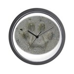 Real Cat Track Wall Clock