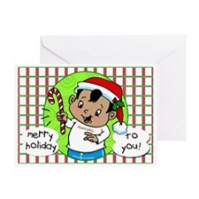 Christmas Baby Greeting Card