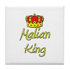 Malian King Tile Coaster