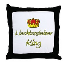 Liechtensteiner King Throw Pillow