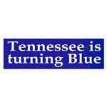 Tennessee is turning Blue (bumper sticker)