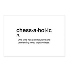 Chess Chessaholic Postcards (Package of 8)