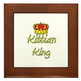 Kittian King Framed Tile