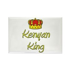 Kenyan King Rectangle Magnet