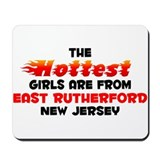 Hot Girls: East Rutherf, NJ Mousepad