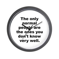 Funny Know Wall Clock