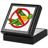 No Veggies Keepsake Box