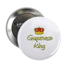 "Guyanese King 2.25"" Button"